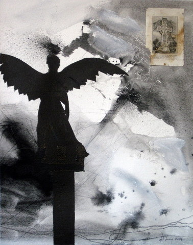 Black Grey Angel Fragment Roman Cut Jpg