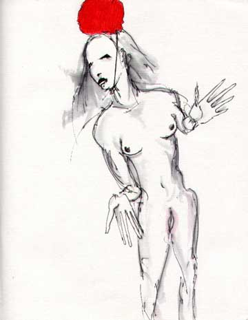 Dancing Butoh Lady Jpg