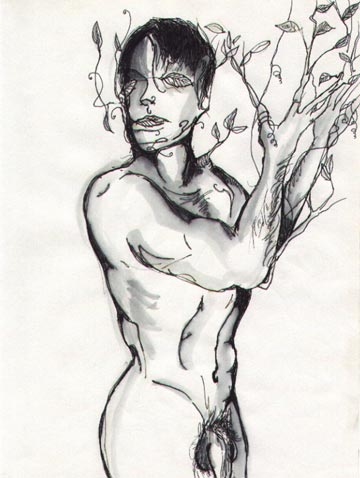Drawing Nude Male Daphne Jpg. 9