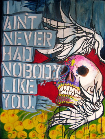 I Aint Never Had Nobody Like You Skull Tulips Wings Jpg