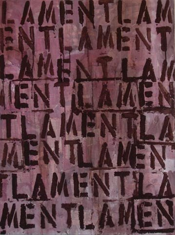 Lament Large Canvas Brown Jpg