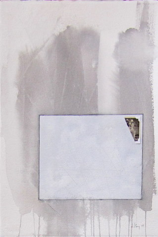 Minimal Grey Photo Fragment Paper Painting Medium Jpg
