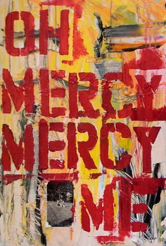 Oh Mercy Mercy Me Text Abstract Jpg