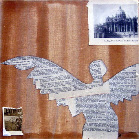 Venice Roma Bible Fragment Angel Jpg