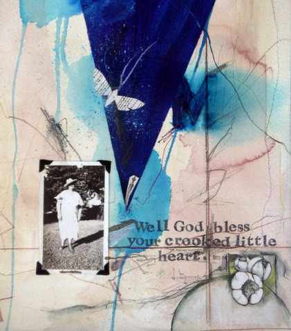 Well God Bless Your Crooked Little Heart Medium Blue Jpg