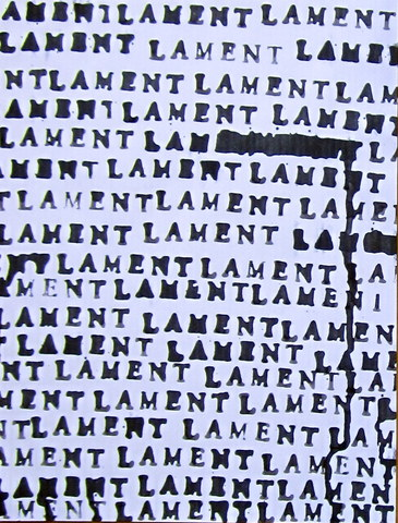 Wet Paper Lament Small Black 2 Jpg